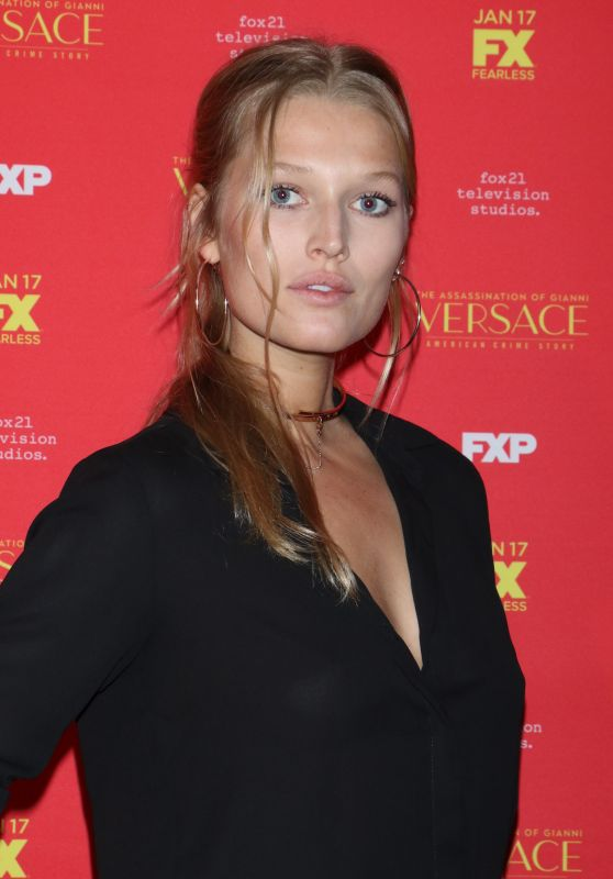 "Toni Garrn - ""The Assassination of Gianni Versace American Crime Story"" TV Show Premiere in New York"
