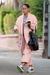 Tracee Ellis Ross - Leaves a Business Meeting in Beverly Hills