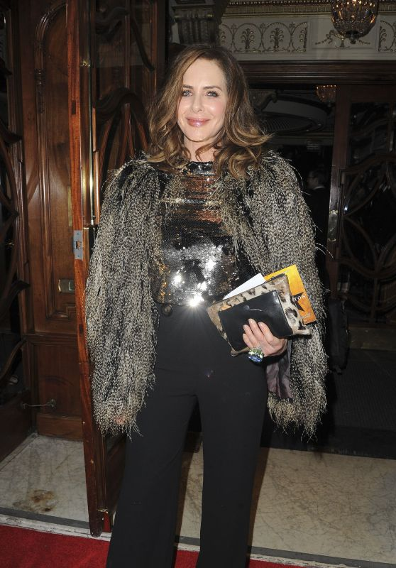 "Trinny Woodall - ""Hamilton"" Musical Press Night in London"