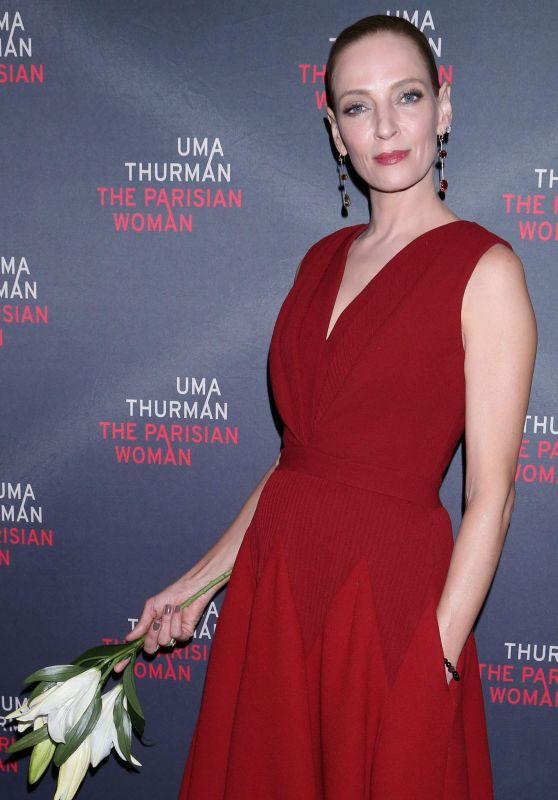 Uma Thurman - Parisian Woman  Opening Night in NYC
