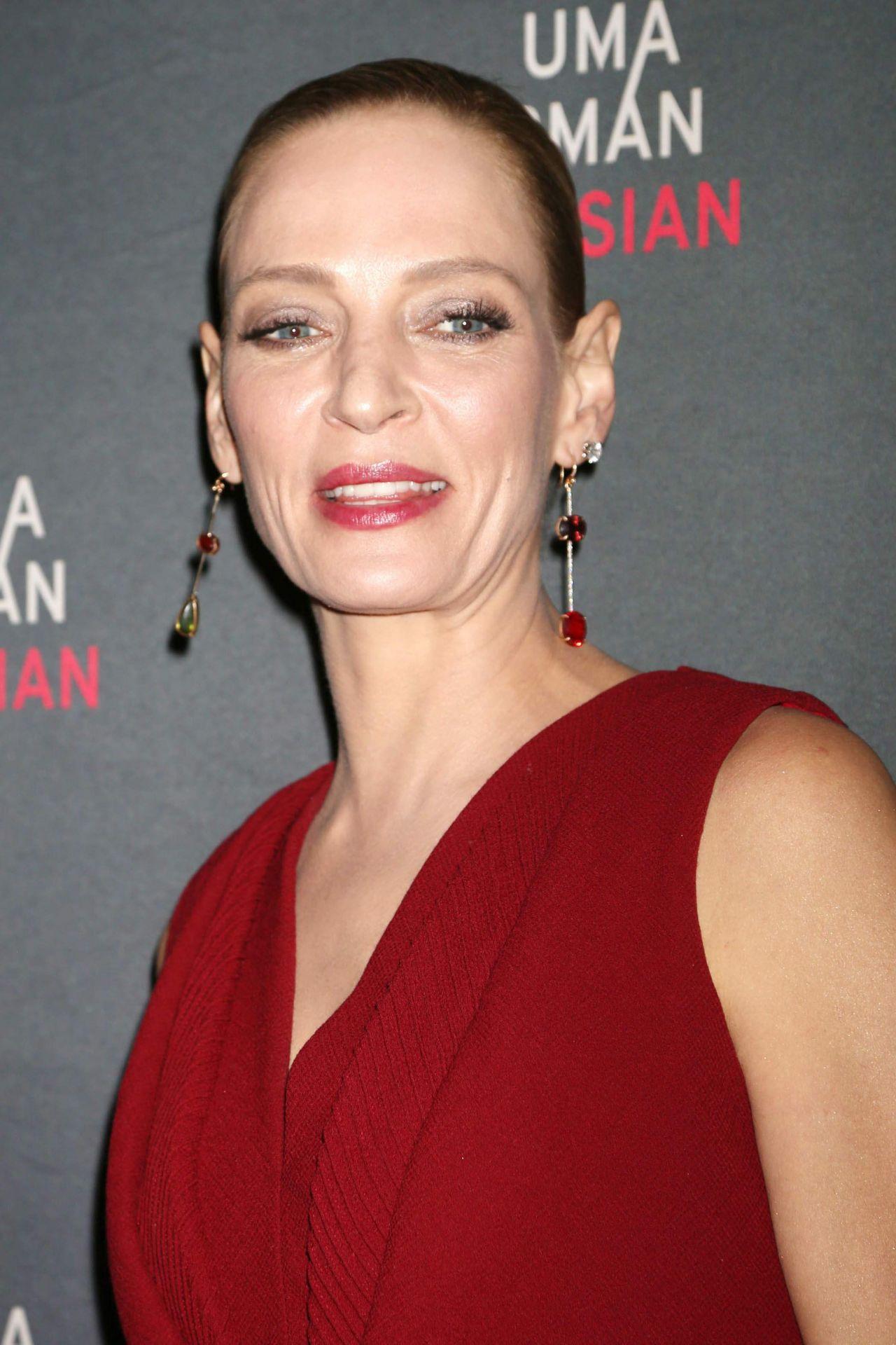 Uma Thurman - Parisian Woman Opening Night in NYC Uma Thurman