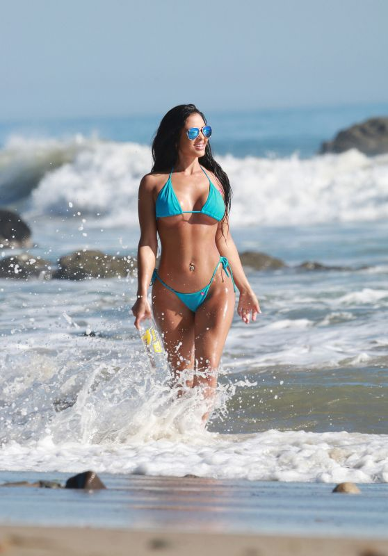 Val Fit Hot in Bikini - 138 Water Photoshoot in Malibu