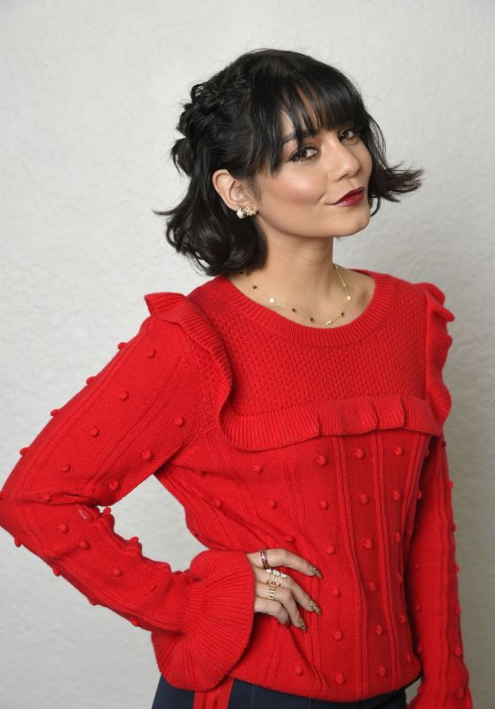 Vanessa Hudgens - Holiday Hair with Joico in Los Angeles