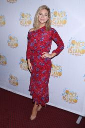 """Vanessa Ray – """"Once On This Island"""" Broadway Opening Night in New York City"""