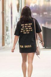 Vanessa White in an Oversized T-Shirt