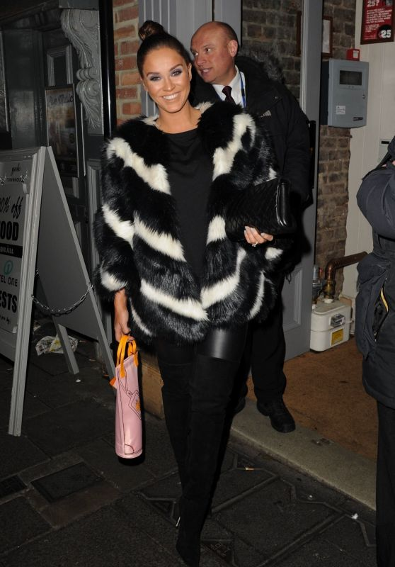 Vicky Pattison - Celebrates Her 30th Birthday Party in Newcastle