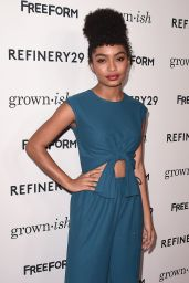 "Yara Shahidi – ""Grown-ish"" Sitcom Premiere in Los Angeles"