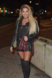 Zahida Allan Night Out in Newcastle