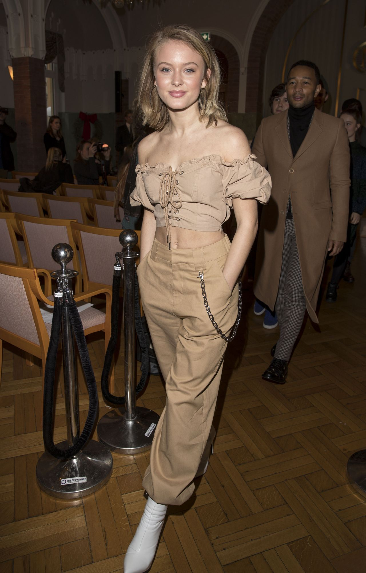 Zara Larsson Nobel Prize Awards Banquet In Stockholm