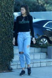 Zendaya Arriving to a Studio in Universal City