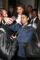 Zendaya Coleman Cute Style - Out in London 12/05/2017