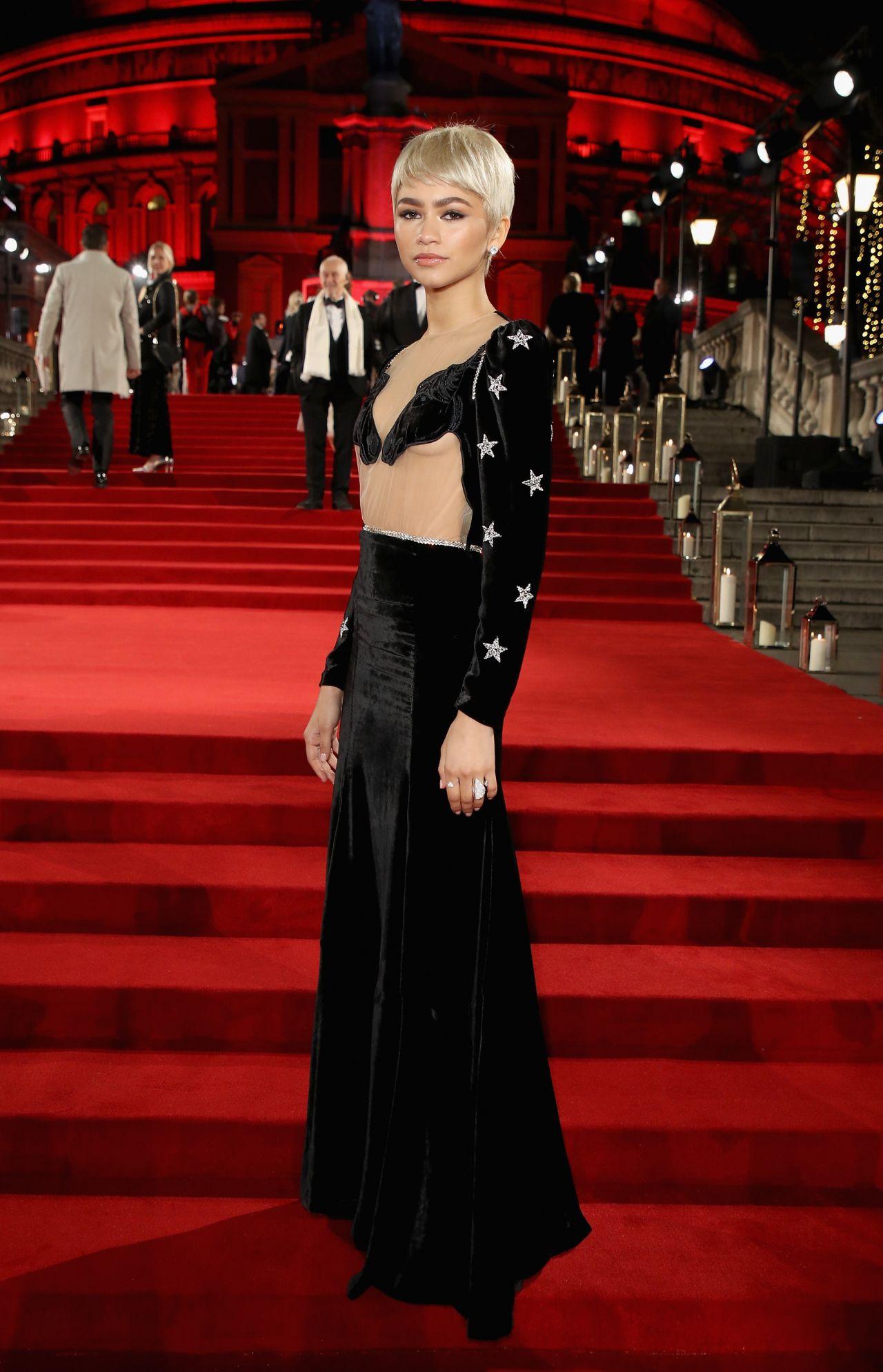 Zendaya Coleman – Fashion Awards 2017 in London