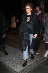 Zendaya Fall Style - NYC 12/11/2017