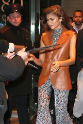 Zendaya is Stylish - Leaving Her Hotel in NYC