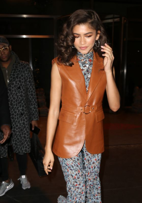 Zendaya is Stylish - Leaving Her Hotel in NYC