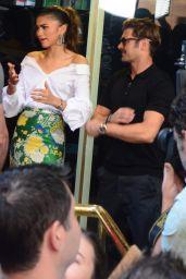 Zendaya, Zac Efron and Hugh Jackman - Sunrise Show in Martin Place in Sydney