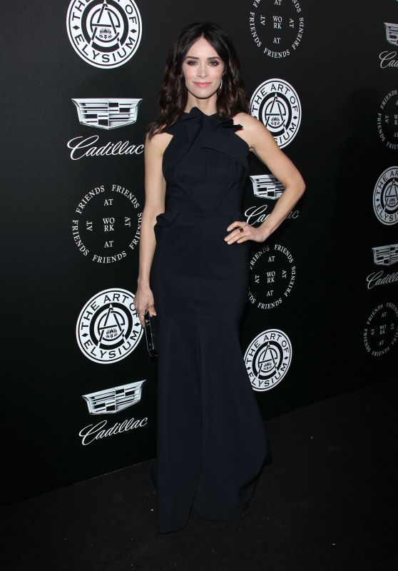 "Abigail Spencer – The Art of Elysium Black Tie Artistic Eperience ""Heaven"" in Santa Monica"