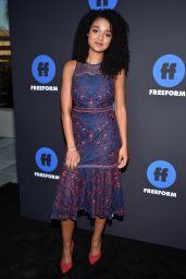 Aisha Dee – 2018 Freeform Summit in Hollywood