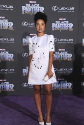 """Aisha Dee – """"Black Panther"""" Premiere in Hollywood"""