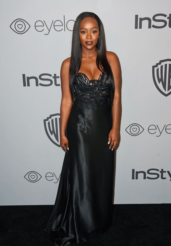 Aja Naomi King – InStyle and Warner Bros Golden Globes 2018 After Party