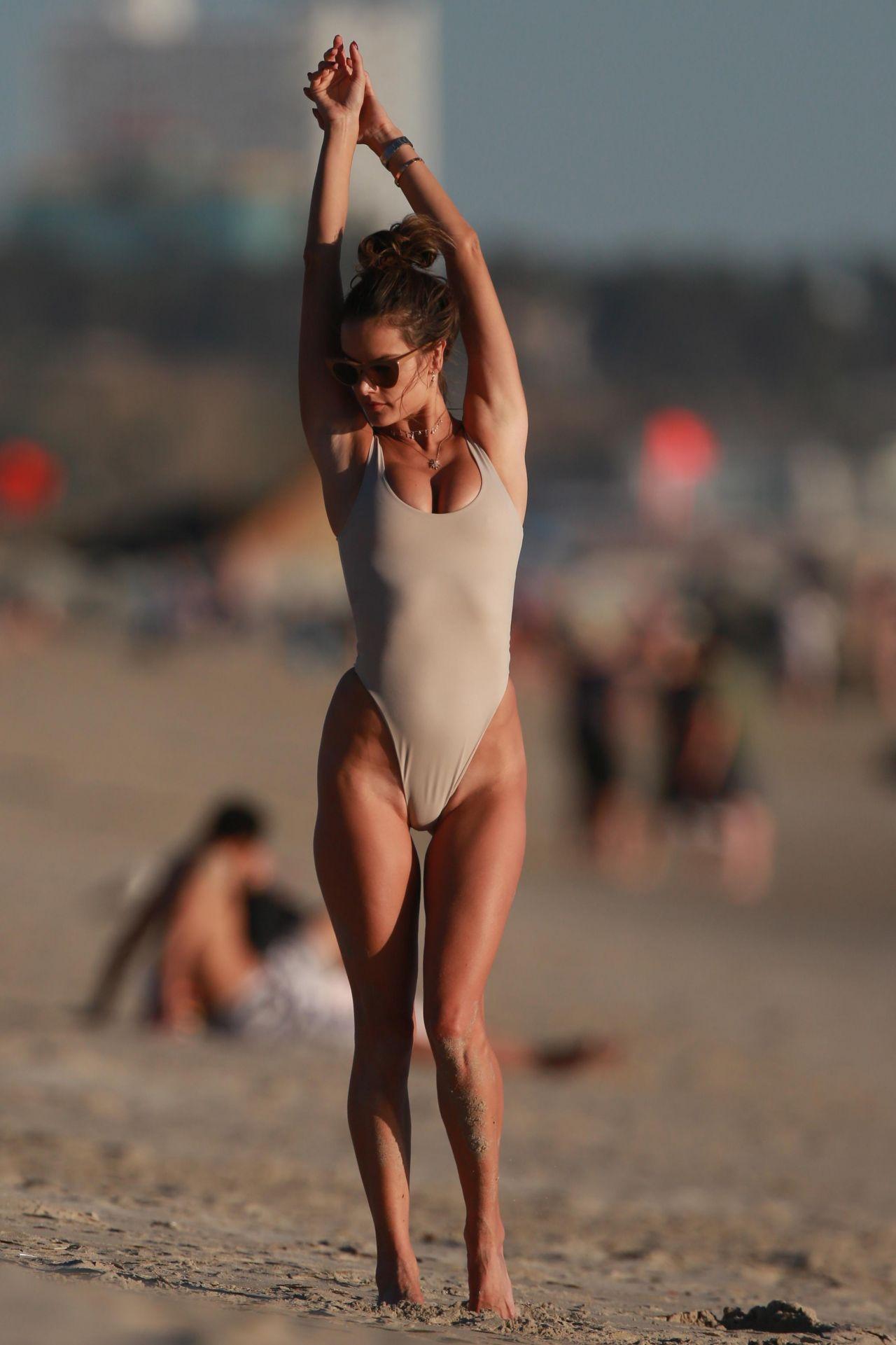 Alessandra Ambrosio In Bikini At The Beach In Malibu 0128 -7174