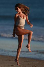Alessandra Ambrosio in Bikini at the Beach in Malibu 01/28/2018