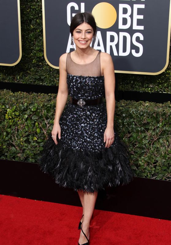 Alessandra Mastronardi – Golden Globe Awards 2018