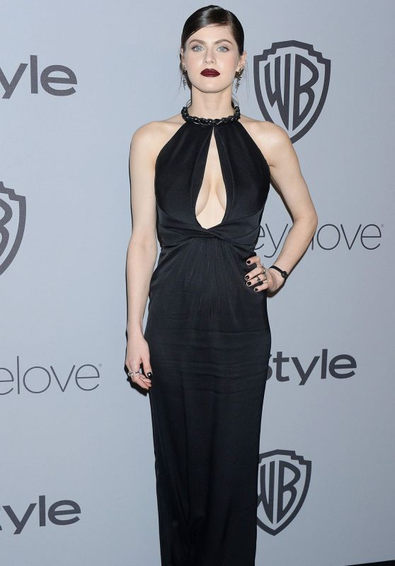 Alexandra Daddario – InStyle and Warner Bros Golden Globes 2018 After Party