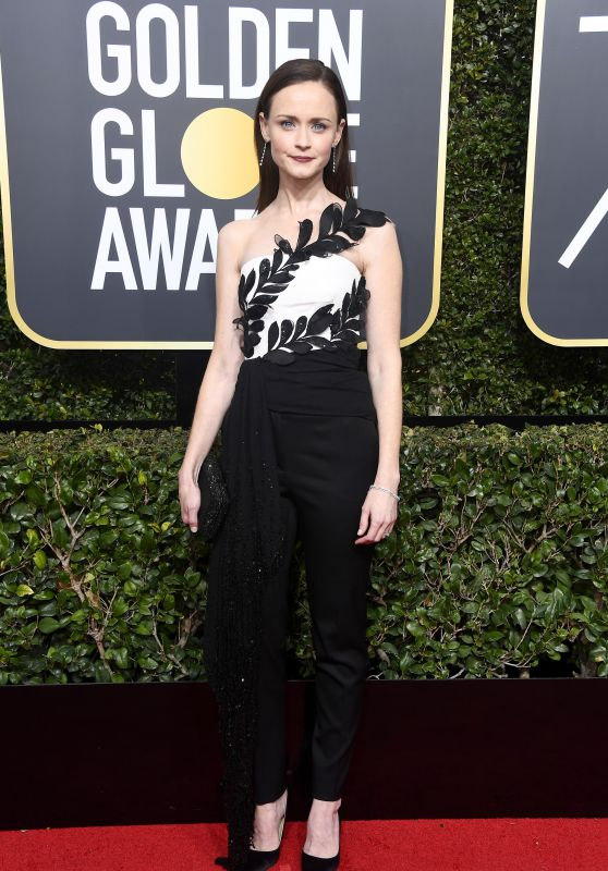 Alexis Bledel – Golden Globe Awards 2018