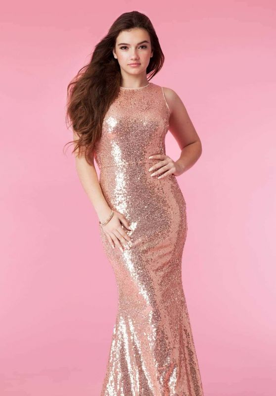 Alexis Jayde Burnett - PromGirl 2018 Collection Photoshoot