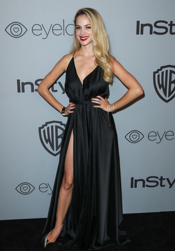Alexis Knapp – InStyle and Warner Bros Golden Globes 2018 After Party