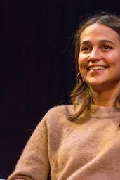 Alicia Vikander - Masterclass During the 41st Gothenburg Film Festival