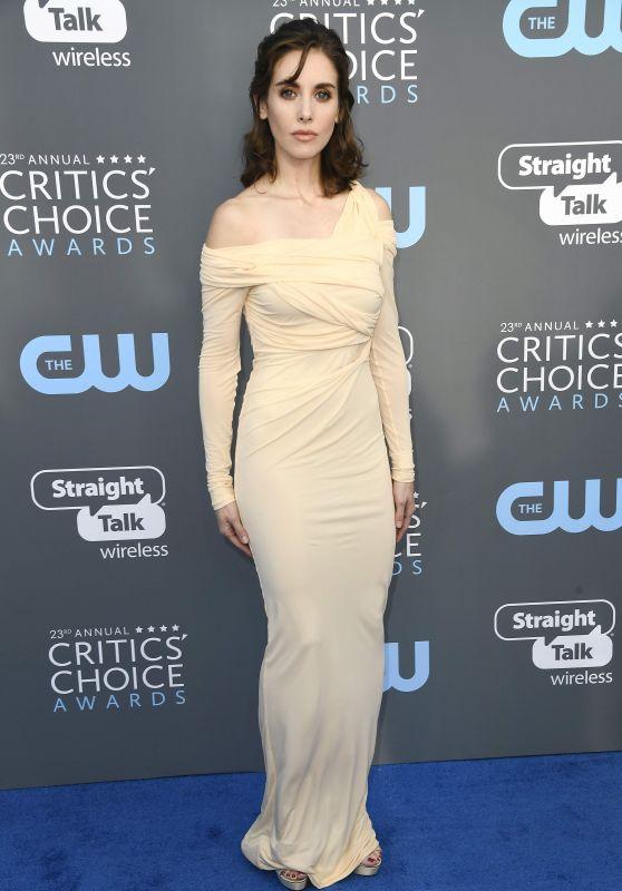 Alison Brie – 2018 Critics' Choice Awards