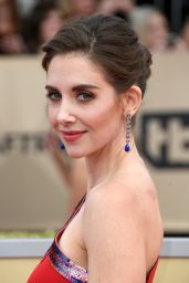 Alison Brie – 2018 SAG Awards in LA