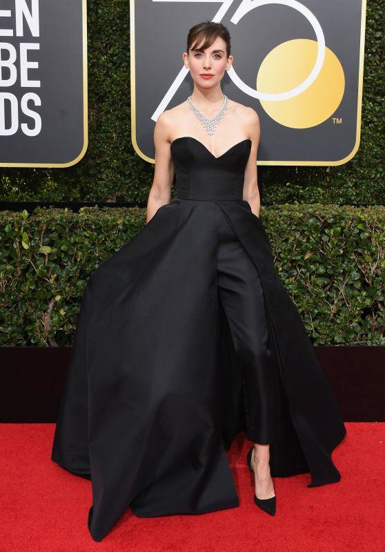 Alison Brie – Golden Globe Awards 2018
