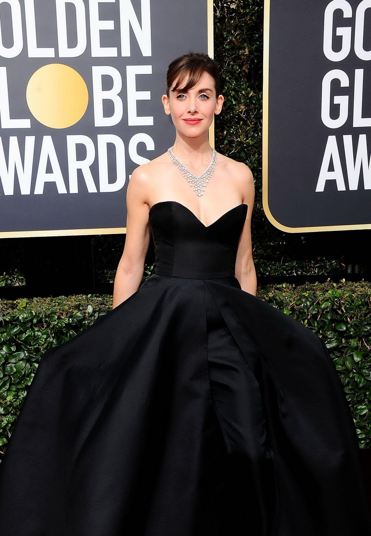 Alison Brie Golden Globe Awards 2018