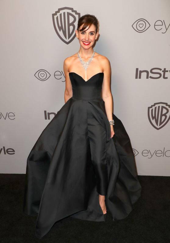 Alison Brie – InStyle and Warner Bros Golden Globes 2018 After Party