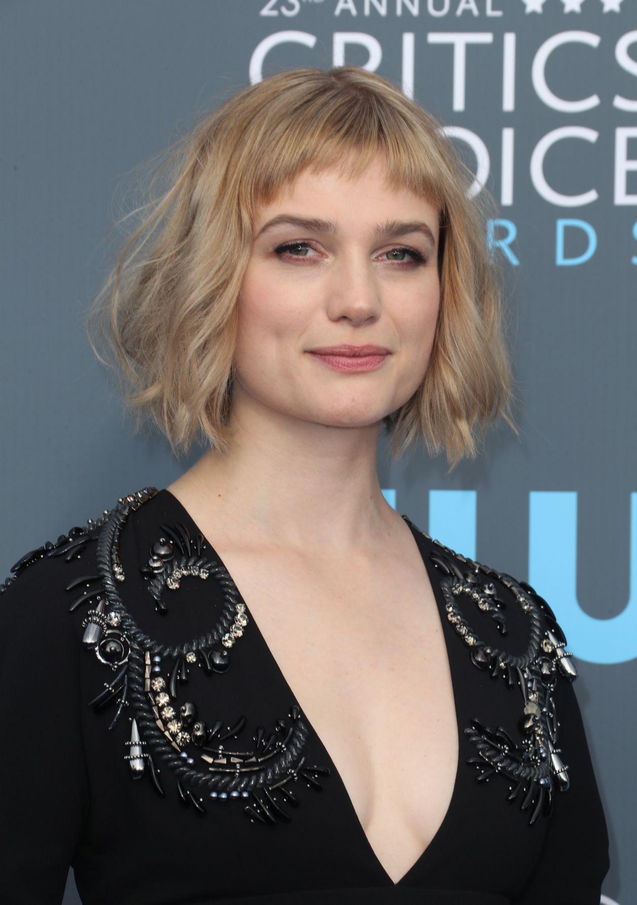Alison Sudol 2018 Critics Choice Awards