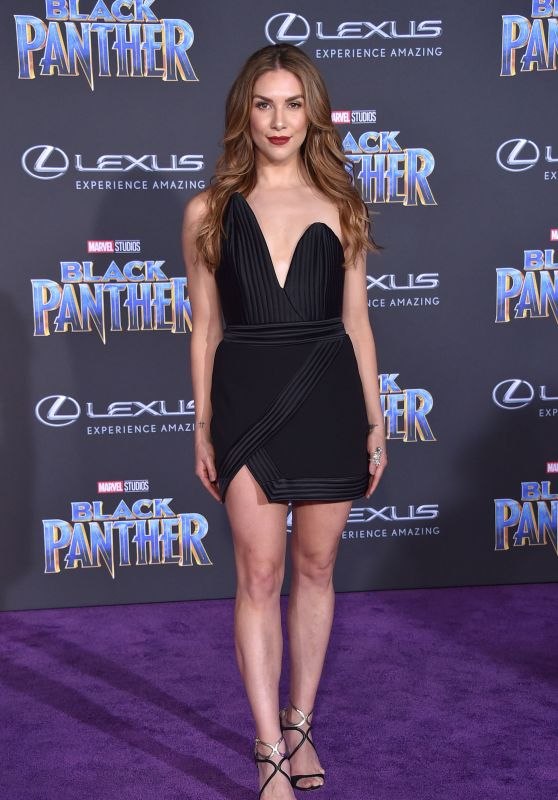 "Allison Holker – ""Black Panther"" Premiere in Hollywood"