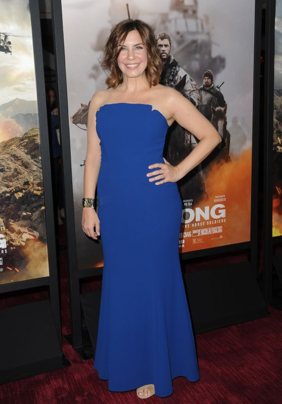 "Allison King - ""12 Strong"" Premiere in New York"