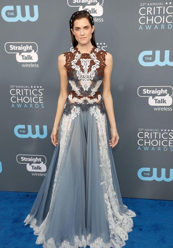 Allison Williams – 2018 Critics' Choice Awards