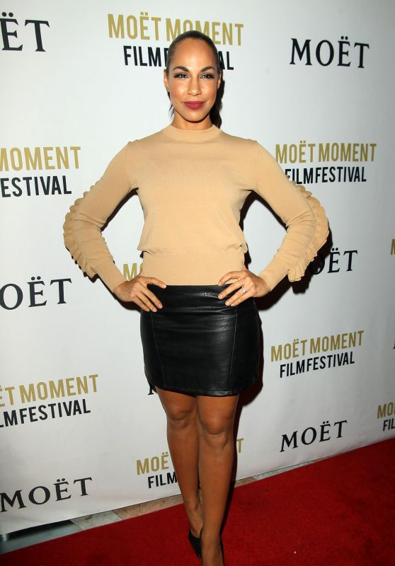 Amanda Brugel – Moet Moment Film Festival Golden Globes Week in Los Angeles