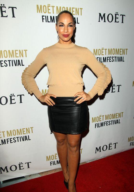 Amanda Brugel – Moet Moment Film Festival Golden Globes Week in Los Angeles