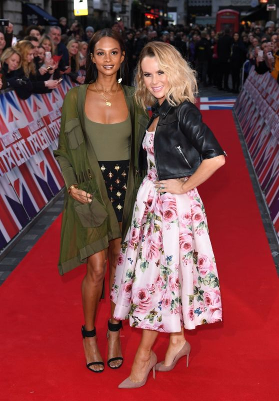 Amanda Holden and Alesha Dixon - Britain
