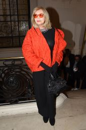 Amanda Lear – Jean-Paul Gaultier Fashion Show in Paris 01/24/2018