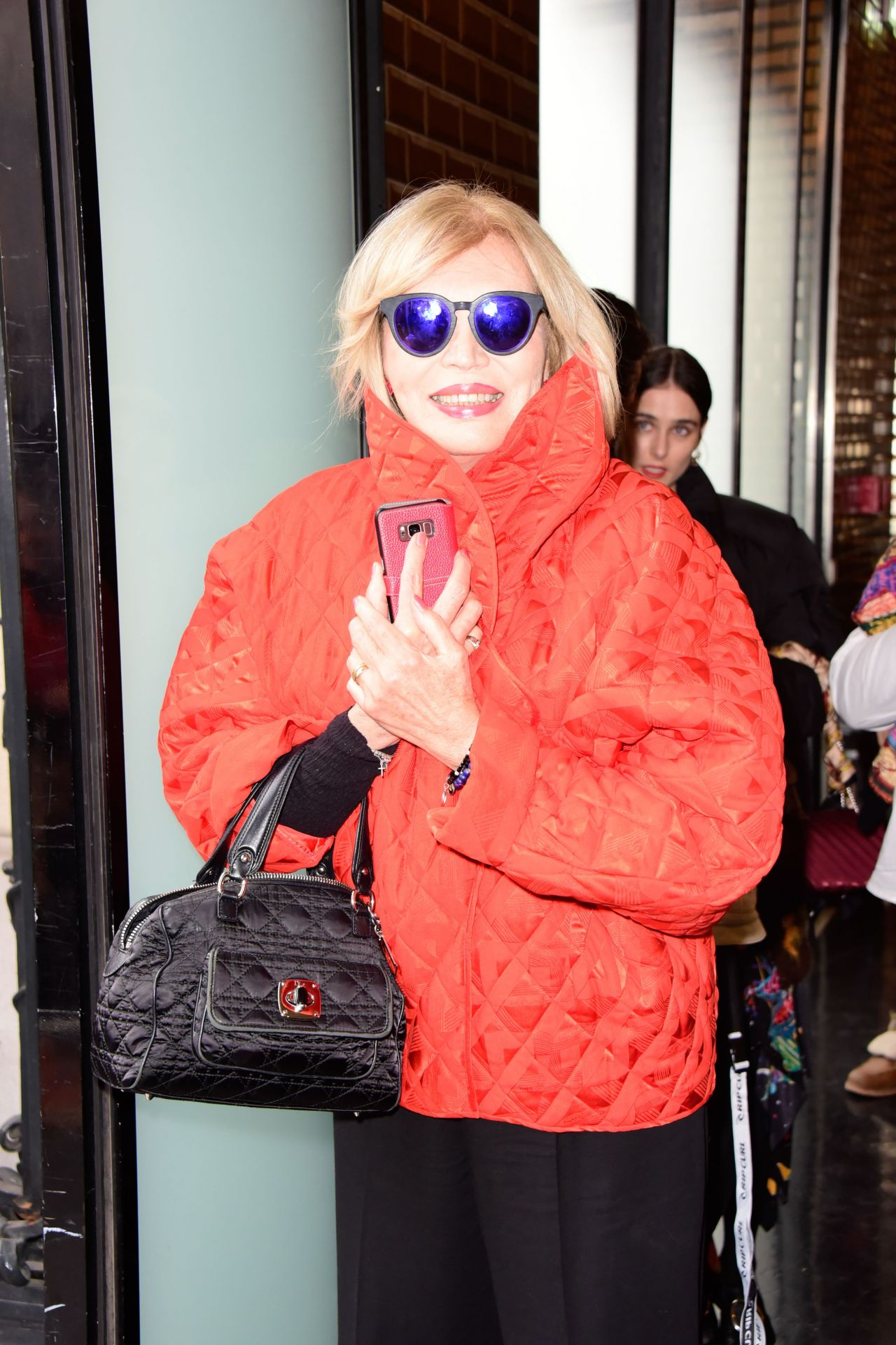 Amanda Lear Jean Paul Gaultier Fashion Show In Paris 01