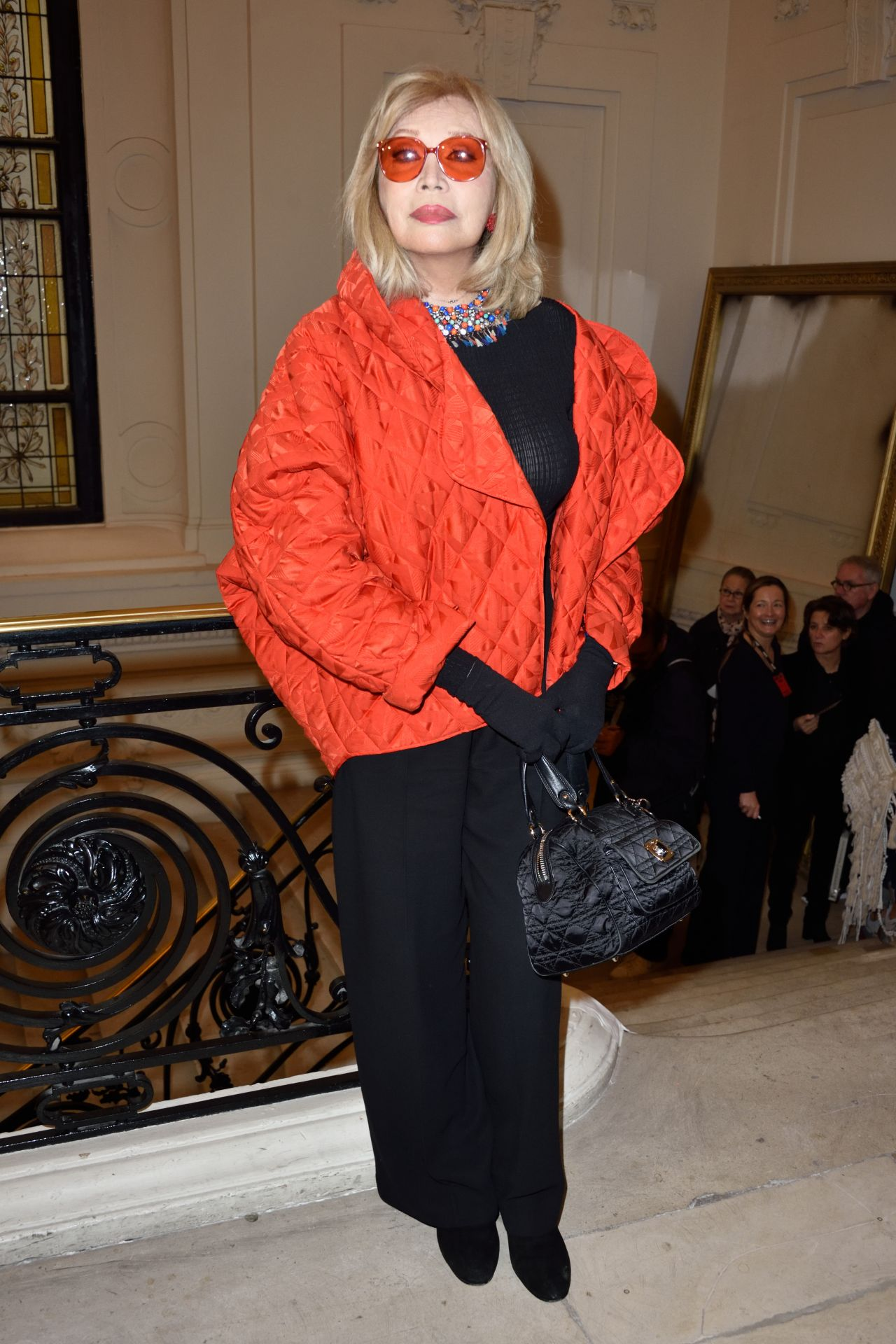 Amanda Lear - Jean-Paul Gaultier Fashion Show in Paris 01