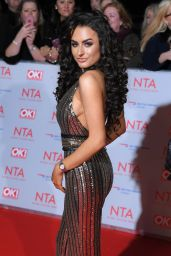 Amber Davies – 2018 National Television Awards in London