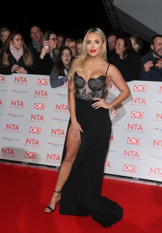 Amber Turner – 2018 National Television Awards in London