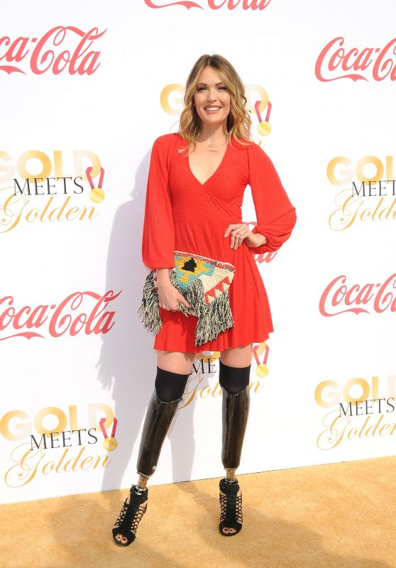 Amy Purdy – Gold Meets Golden Awards in Los Angeles